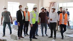Haliliye'de Göbeklitepe Kültür Evi inşaatı yükseliyor