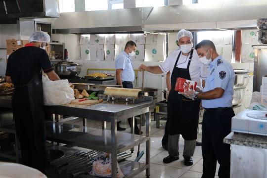 Karaköprü'de okul kantinlerinde pandemi denetimi ( Video Haber )