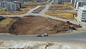 Karaköprü'de yeni yeşil alanlar kazandırılıyor