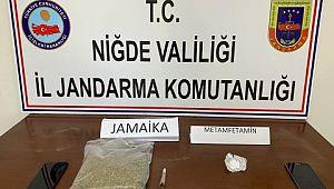 Niğde'de 1 kilo Jamaika ele geçirildi