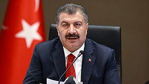 """Sağlık Bakanı Koca: """"Şanlıurfa'nın risk haritasındaki rengi turuncu yerine sarı"""""""