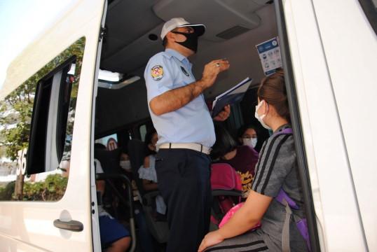 Şanlıurfa'da okul servis araçları denetlendi ( Video Haber )