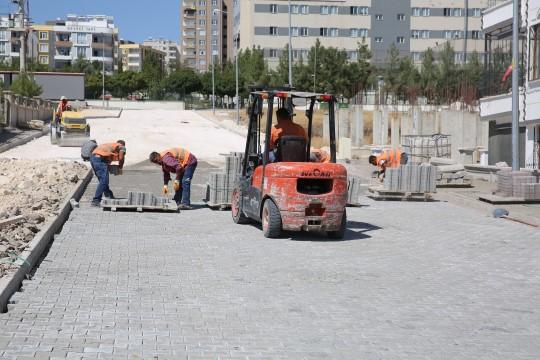 Seyrantepe'de kilitli parke çalışması sürüyor ( Video Haber )