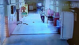 Stajyer öğrenci cep telefonunu çalan hırsızı kovaladı ( Video Haber )