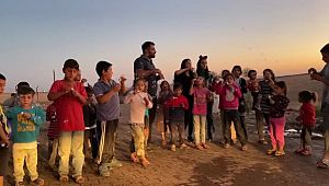 Gönüllü palyaçolara muhtar engeli ( Video Haber )