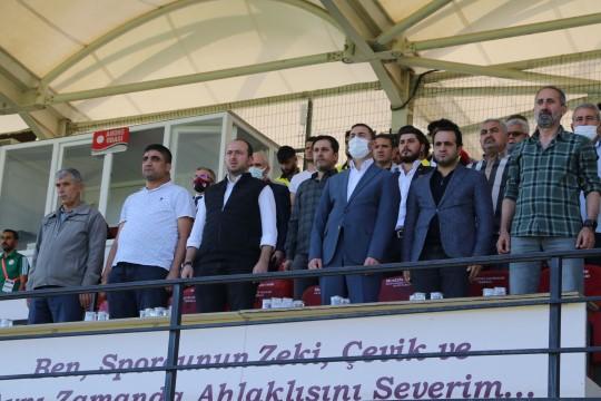 Karaköprü belediyespor'dan önemli galibiyet