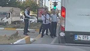 Yolcu otobüsü şoförü trafikte dehşet saçtı ( Video Haber )
