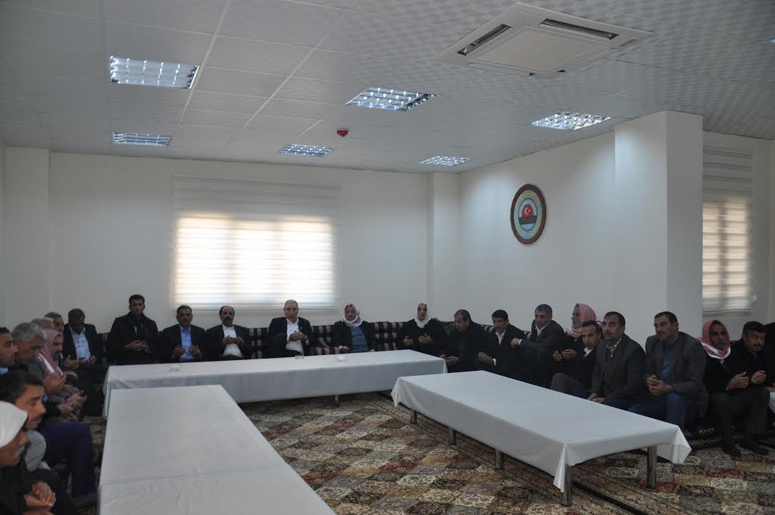 Şanlıurfa Ziraat Odası barışa evsahipliği yaptı