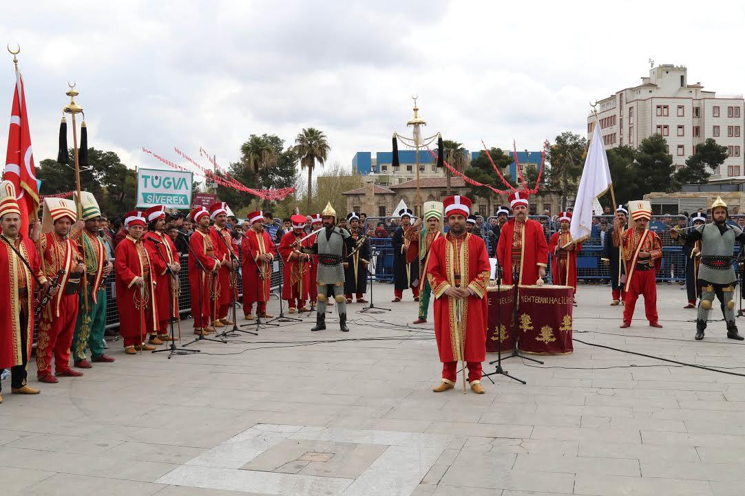 Mehteran-I Haliliye TÜGVA açılışında sahne aldı