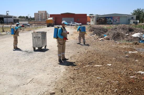 Haliliye Belediyesi, temizlikte kırsalı unutmuyor