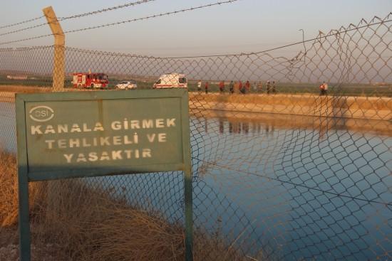 Sulama kanalında kaybolan Suriyelinin cesedi bulundu