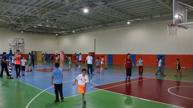Büyükşehir'in basketbol kursuna yoğun ilgi