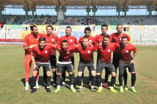 Karaköprü Belediyespor kupaya galibiyetle başladı