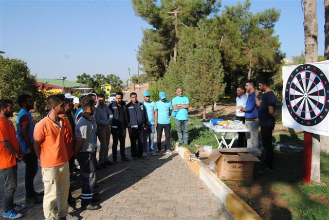 Büyükşehir'den ilçe belediyelerine 'boğa timi' eğitimi
