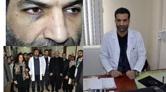 Doktoru darp eden baba ve oğluna hapis cezası