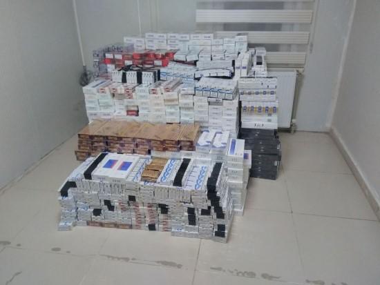 Ceylanpınar'da kaçak sigara operasyonu