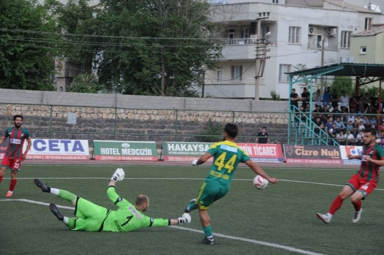 Cizrespor-Osmaniyespor: 1-2
