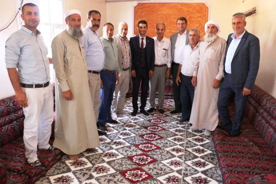Başkan Ayhan Kırsala çıkarma yaptı
