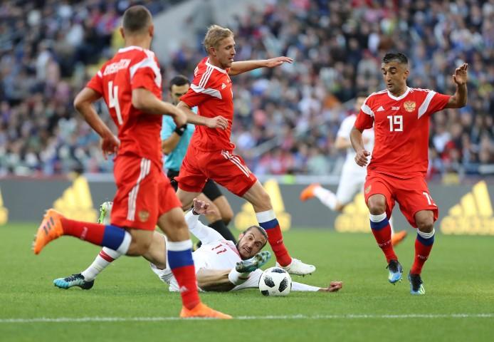 Hazırlık maçı: Rusya: 1 - Türkiye: 1