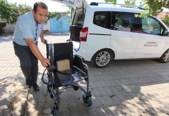 Başkan Yaralı'dan Güneydoğu Gazisine akülü araba