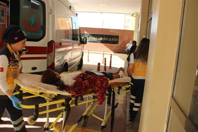 Şanlıurfa'da üzerine kaynar süt dökülen çocuk yaralandı