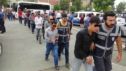 Şanlıurfa'da Suriyelilere yönelik sosyal medya provokasyonuna 21 gözaltı