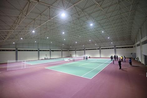Şanlıurfa'da tenis oyun dünyasının yapımı tamamlandı