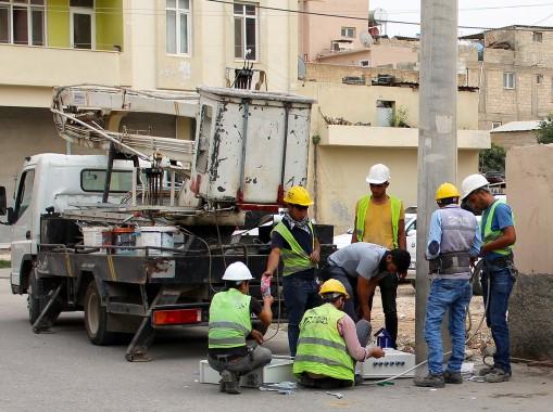 Dicle Elektrik'ten Suruç'a 1 milyon liralık yatırım