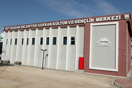 Harran Kültür Merkezi hizmete açıldı