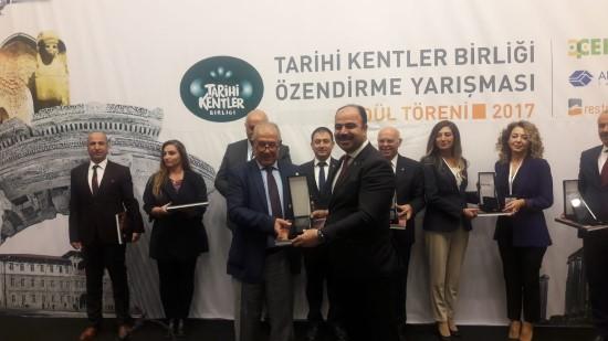 Büyükşehir'e 'en iyi uygulama ödülü' verildi