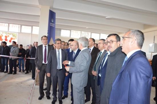 HRÜ'de organik meyve işleme tesisi açıldı