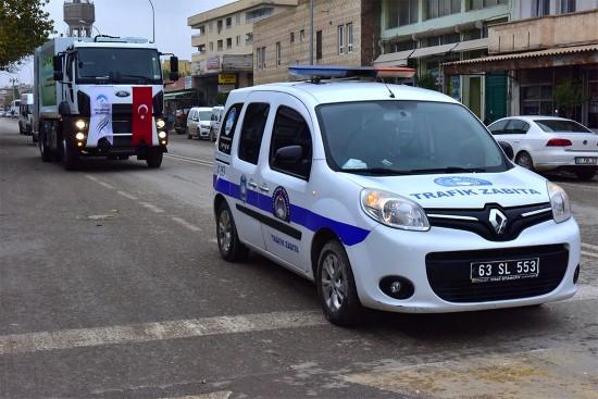 Ceylanpınar Belediyesi araç filosunu güçlendiriyor