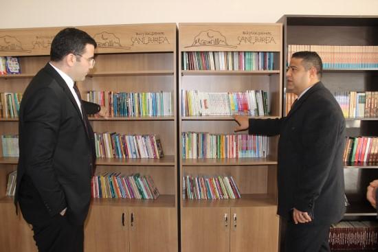 Siverek'te ortaokul öğrencileri için kütüphane ve okuma salonu açıldı