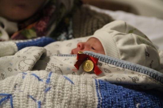 Şanlıurfa'da yeni yılın ilk bebeği Muhammed Mustafa oldu