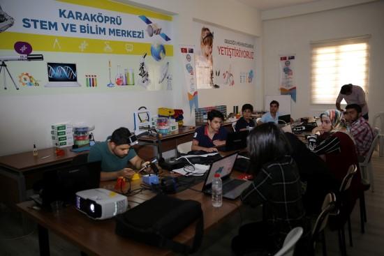 Karaköprü'de öğrencilere stem eğitimi verilecek