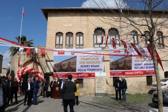 Şanlıurfa'da konservatuar şube müdürlüğü açıldı
