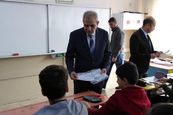 Haliliye'de öğrencilere deneme sınavı