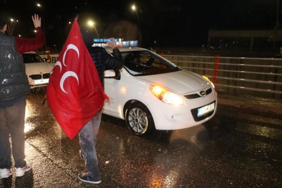 Şanlıurfa'da AK Parti'nin seçim zaferi sevinci