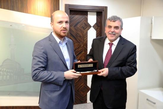 Bilal Erdoğan'dan Beyazgül'e ziyaret