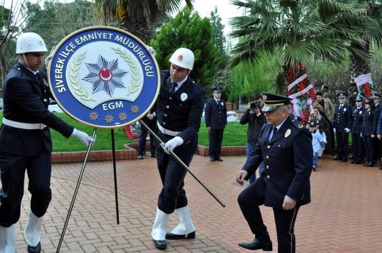 Siverek'te Polis Haftası törenle kutlandı