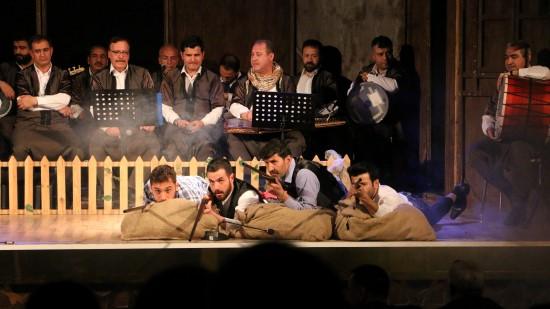 Şanlıurfa'da Kurtuluş müzikali