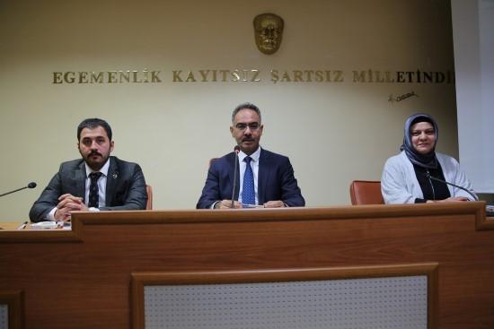 Eyyübiye'de ilk belediye meclis toplantısı yapıldı