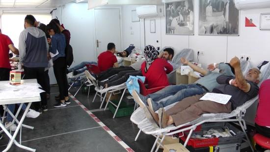 Ceylanpınar'da kan bağışına vatandaşlar ilgi gösterdi