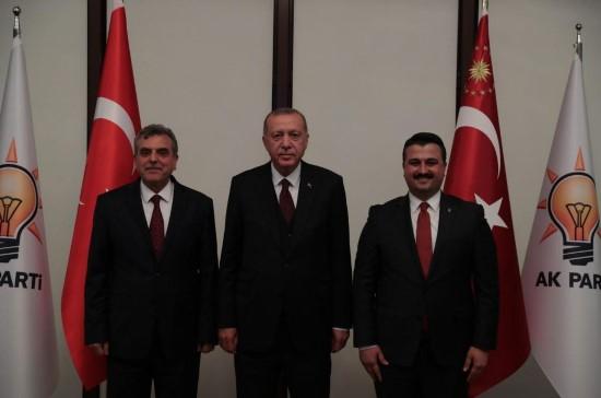Beyazgül Cumhurbaşkanı Erdoğan'la bir araya geldi