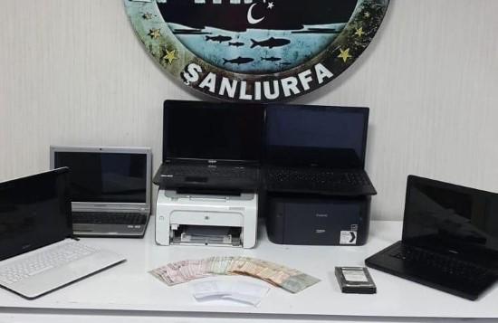 Şanlıurfa'da yasadışı bahis operasyonu: 10 gözaltı