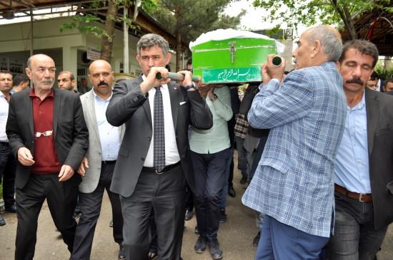 TBB Başkanı Feyzioğlu Siverek'te cenazeye katıldı