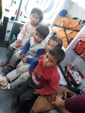 Kaybolan 4 çocuk 12 saat sonra taziye evinin içinde bulundu