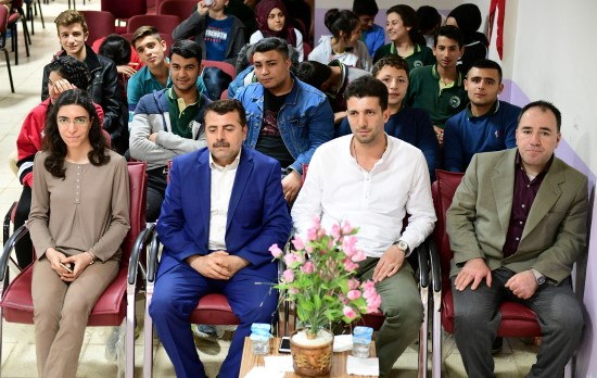 Şanlıurfa'da öğrencilere sinema etkinliği