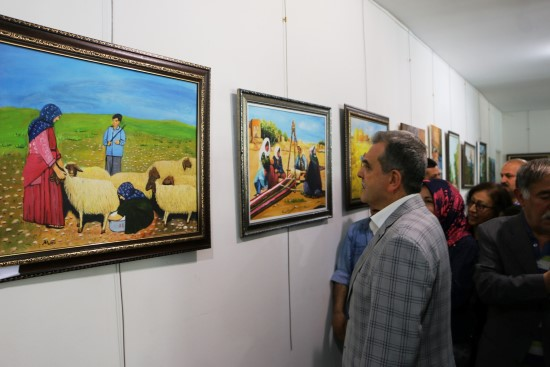 Şanlıurfa'da Anneler gününe özel sergi