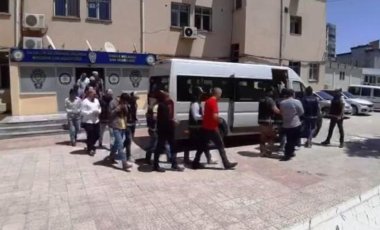 Şanlıurfa'daki tefeci operasyonunda 8 tutuklama